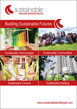 sustainable building services brochure front page thumbnail