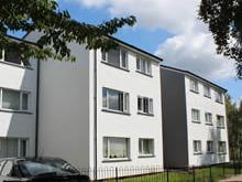 Completed external wall insulation works at Newark Crescent