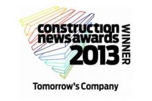 Construction News Award 2013 Tomorrow's Company